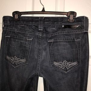 Affliction Jeans - AFFLICTION BLACK PREMIUM JEANS